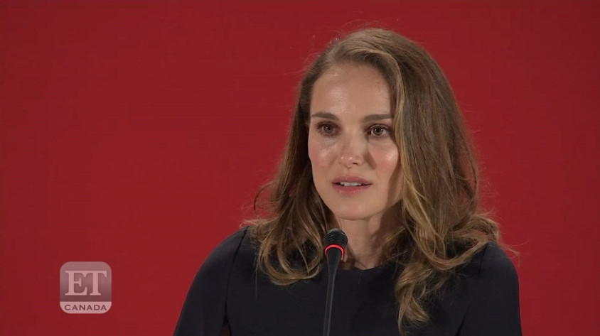 Press/Video: Natalie Portman Thinks America Is Experiencing A 'Civil War'