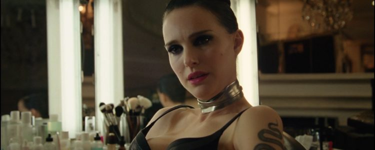 Press: Natalie Portman sizzles in a black bra as she transforms into a pop superstar for new flick Vox Lux